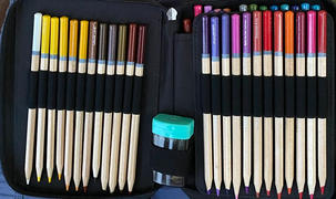 ColorIt Coloring Books 48 Pencil Holder Travel Case Review