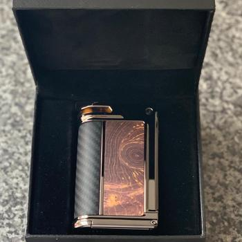 Grey Haze ECig Store Lost Vape Evolved Paranormal DNA250C Box Mod Stabwood Review