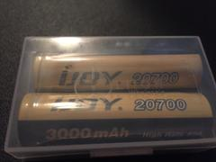 Liion Wholesale Batteries IJOY 20700 Battery 40A 3000mAh - Genuine - CLEARANCE Review
