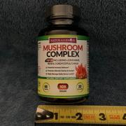 Natural Genius Top 10 Immune Support Mushroom Complex - Lions Mane, Cordyceps, Chaga, Reishi, Turkey Tail, Shiitake, and more - 60 caps Review