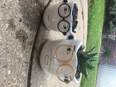 The Chic Nest Man With Metal Glasses Planter Review