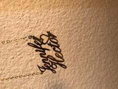 "diyjewelry Joshua❤Ruben - Copper/925 Sterling Silver Personalized Double Names Necklace with A Cut Out Heart Adjustable 16""-20"" Review"