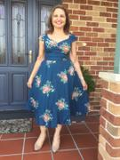 Number 9 Fashion Flower Bouquet Teal Sweet Heart Dress Review