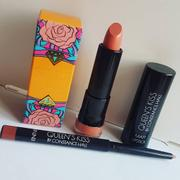 QUEEN THE LABEL Queen's Kiss Matt Lipstick & Lip Liner Duo - Bare Back Review