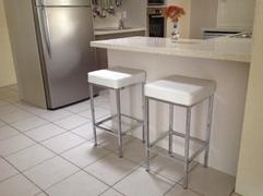 Just Bar Stools Alicia Kitchen Counter Stool (Set of 2) White Review