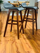 Just Bar Stools Kerzie Bar Stool (Set of 2) Black Review