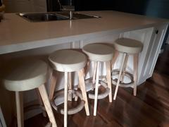 Just Bar Stools Sandt Bar Stool (Set of 2) Beige Review