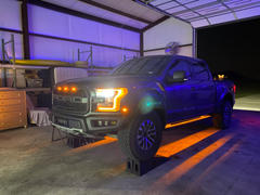 F150LEDs.com 2017 - 2020 F150 RAPTOR LED Running Board/ Area Premium Lights Review