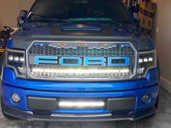 F150LEDs.com 2009-14 F150 44 PALADIN 210W Curved Lower Grille LED Bar Review