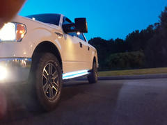 F150LEDs.com 2017 - 2020 F250 Super Duty Running Board/ Area Premium Lights Review