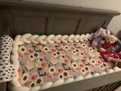 Posh Peanut French Gray Floral Crib Sheet Review