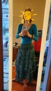 The Hippy Clothing Co. Layered Hanky Hem Printed Skirt Review