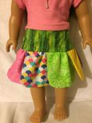 Pixie Faire Petal Skirt 18 Doll Clothes Pattern Review
