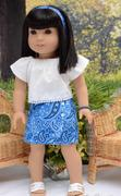 Pixie Faire Aloha Sarong Skirt 18 Doll Clothes Review