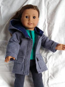 Pixie Faire Oxford Square Coat 18 Doll Clothes Pattern Review