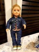 Pixie Faire Denim Jacket 18 Doll Clothes Pattern Review