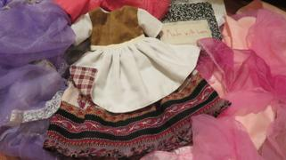 Pixie Faire 1774 Colonial Gown 18 Doll Clothes Pattern Review
