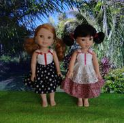 Pixie Faire Dainty Ruffled Dress 14-14.5 Doll Clothes Pattern Review