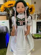 Pixie Faire Spring Dirndl 18 Doll Clothes Pattern Review