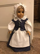 Pixie Faire Pretty Pilgrim 18 Doll Clothes Pattern Review