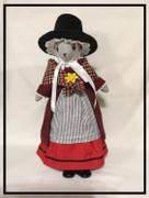 Pixie Faire Modern Welsh Costume 18 Doll Clothes Pattern Review