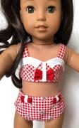 Pixie Faire Spring Bikini 18 Doll Clothes Pattern Review