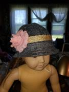Pixie Faire Modern Cloche Hat 18 Doll Accessories Review