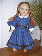 Pixie Faire 1850's Day Dress 18 Doll Clothes Pattern Review