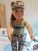 Pixie Faire Army Combat Uniform 18 Doll Clothes Pattern Review