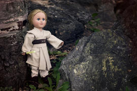Pixie Faire Galactic Warrior Robe 18 Doll Clothes Review