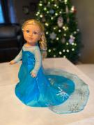 Pixie Faire Winter Snow Queen Gown 18 Doll Clothes Pattern Review