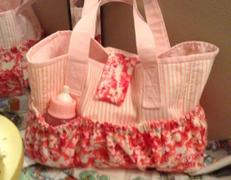 Pixie Faire Dolly Diaper Bag 15 Baby Doll Accessory Pattern Review