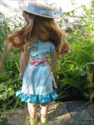 Pixie Faire Nautical Top & Removable Collar 13-14.5 Doll Clothes Pattern Review