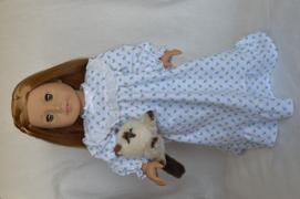 Pixie Faire Old Fashioned Nightgown 18 Doll Clothes Pattern Review