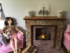 Pixie Faire Crafter-Friendly Fireplaces for 14 - 19 Dolls Review