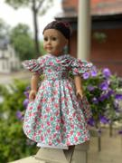 Pixie Faire The Beret Sleeve Dress 18 Doll Clothes Review