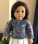 Pixie Faire Chantelle Cardigan for 18 inch dolls Review