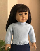 Pixie Faire West Acre Sweater 18 Doll Knitting Pattern Review