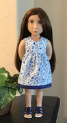 Pixie Faire Garden Tea Dress Pattern For 16 A Girl For All Time Dolls Review