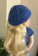 Pixie Faire Cables and Lace Knitting Pattern for 16 dolls such as A Girl for All Time Review