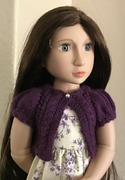 Pixie Faire Bayswater Bolero Knitting Pattern for Slim 16-17 dolls Review