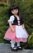 Pixie Faire Tutu Cute Story Book Dress-up Costume Dress 14.5 Doll Clothes Pattern Review