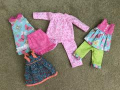Pixie Faire Pinkie Dress 14.5 Doll Clothes Pattern Review