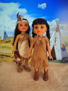 Pixie Faire Native American Dress 14.5 Doll Clothes Pattern Review
