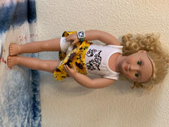 Pixie Faire Chantilly Skirt 18 Doll Clothes Review