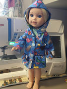 Pixie Faire Oxford Square Coat 14 - 14.5 Inch Doll Clothes Pattern Review