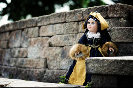 Pixie Faire Renaissance Faire Hampton Court Gown 18 Doll Clothes Review
