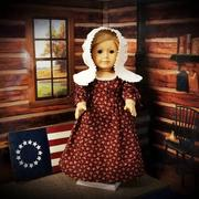 Pixie Faire Betsy Ross Shop Dress 18 Doll Clothes Review