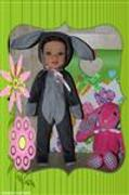 Pixie Faire Hoppity Bunny Suit 14-14.5 Inch Doll Clothes Pattern Review