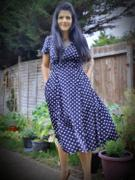 Weekend Doll Ava Navy Polka Dot Tea Dress Review